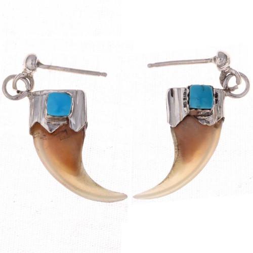 Bobcat Claw Earrings 23615