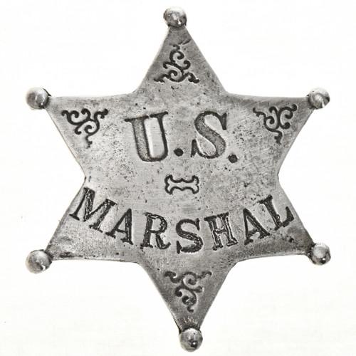 US Marshal Western Silver Badge 28996