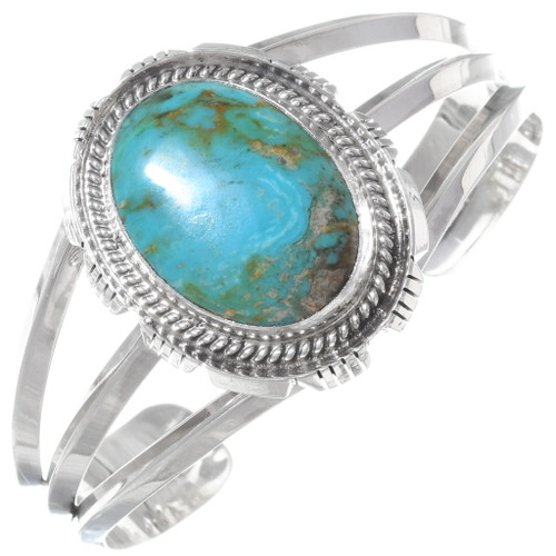 Turquoise Silver Ladies Cuff 11869