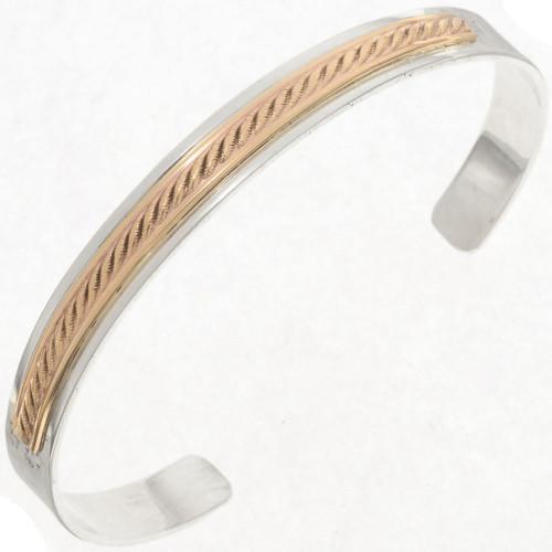 Navajo Gold Bracelet 22859