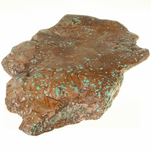 Large Number 8 Turquoise Nugget 27815