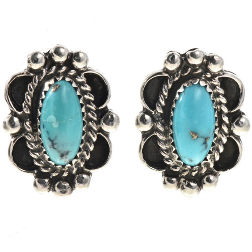 Pretty Turquoise Post Earrings 28843