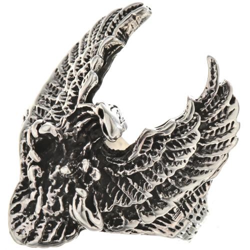 Navajo Eagle Mens Ring 28579
