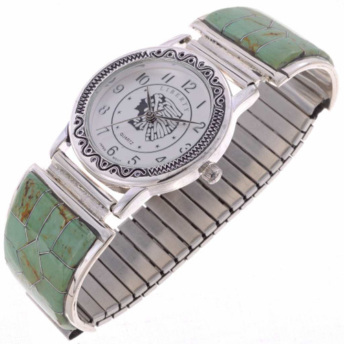 Turquoise Mens Watch 24522