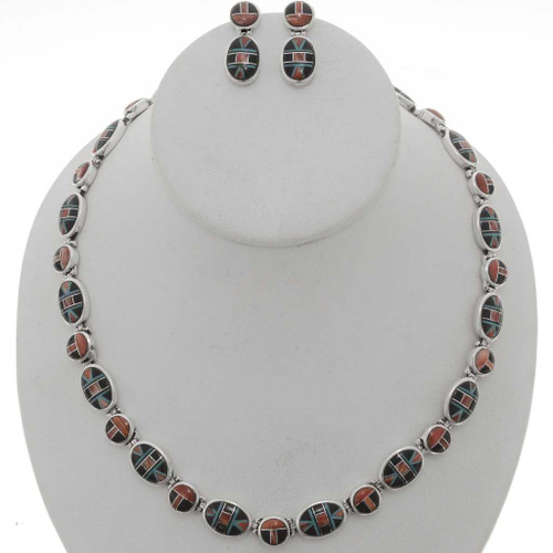 Spiny Oyster Necklace Set 27012