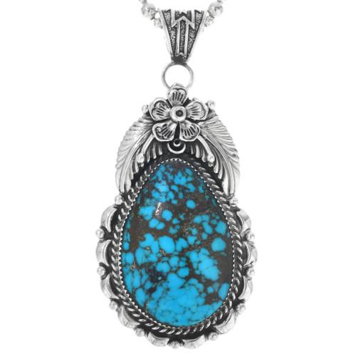 Bisbee II Turquoise Navajo Pendant  29850