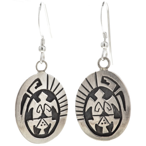 Silver Turtle Earrings 29941