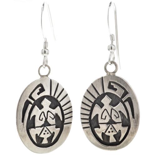 Silver Turtle Earrings 29941