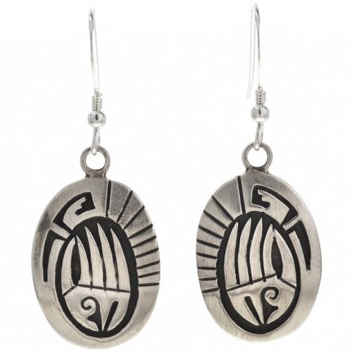 Silver Bear Paw Earrings 29942