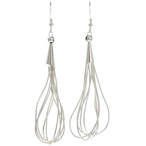 Liquid Silver Earrings 29958