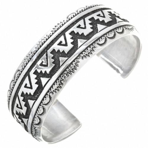 Tommy Rose Singer Silver Cuff Bracelet 30027