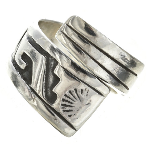 Sterling Silver Navajo Wrap Ring 30109