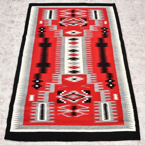 Navajo Wool Rug By Glorilene Harrison 30232