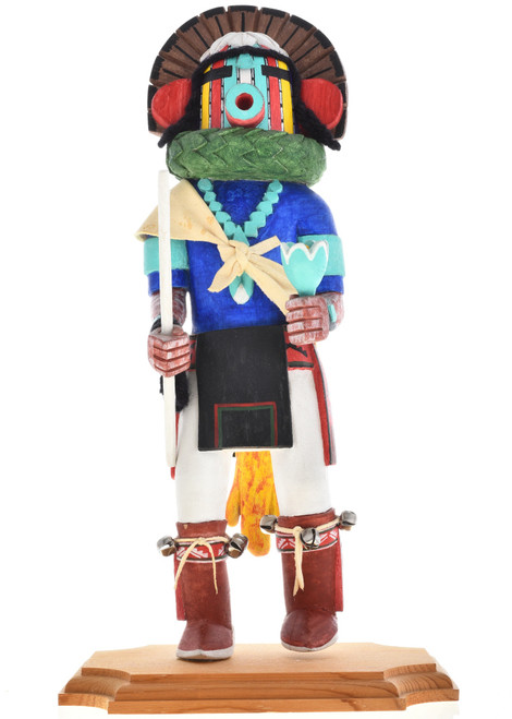 Vintage Corn Kachina Doll by Laurence Numkena 30301
