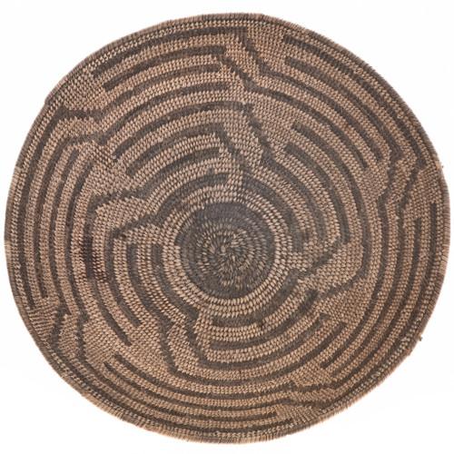 Vintage Native American Basket Bowl 30383