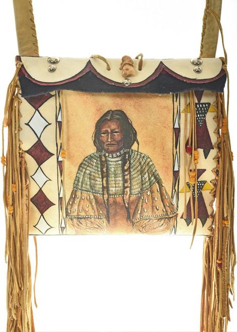 Indian Parfleche Shoulder Bag Purse 30425