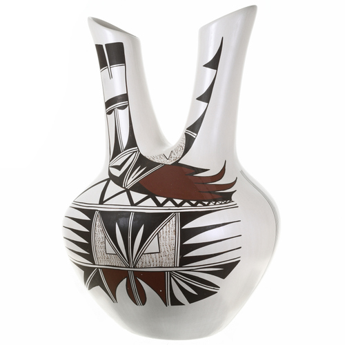 Vintage Hopi Wedding Vase Pottery 30559