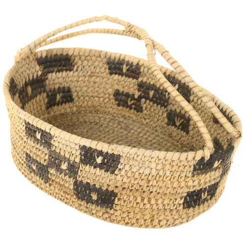 Pima Indian Basket With Handle 30572