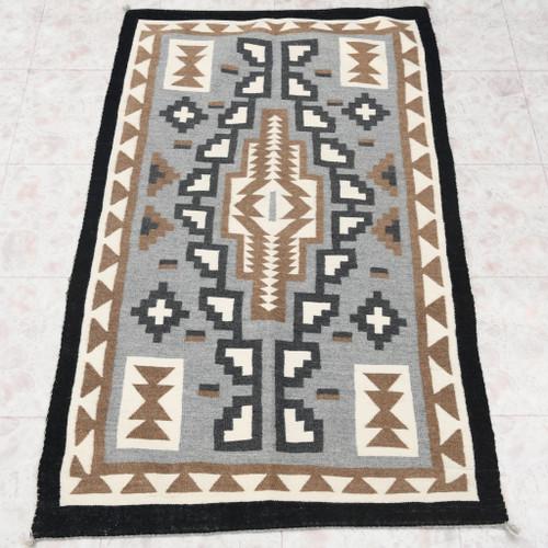 High Quality Vintage Wool Navajo Rug 30605