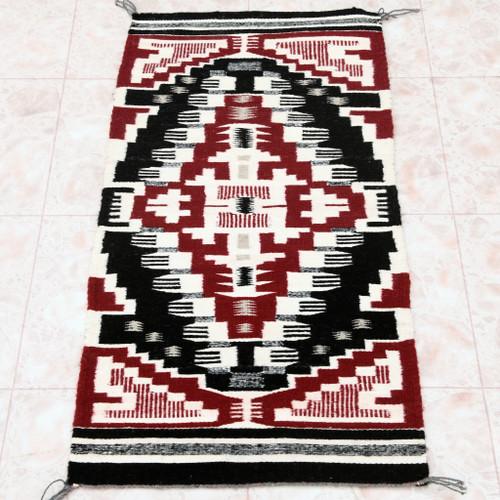 Native American Navajo Tribe Wool Rug 30609