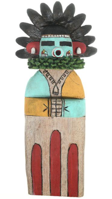 Flat Hopi Kachina Doll Early Morning Singer by Sam Tewa 30648