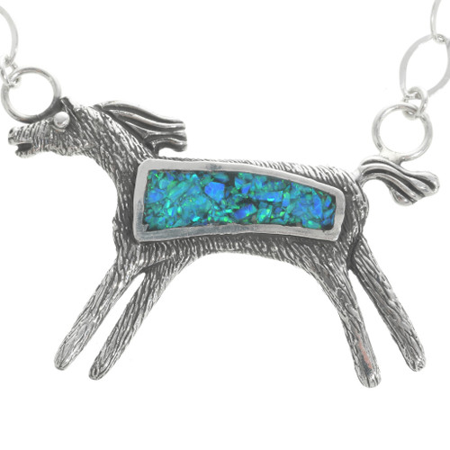 Navajo Indian Horse Pendant 30785