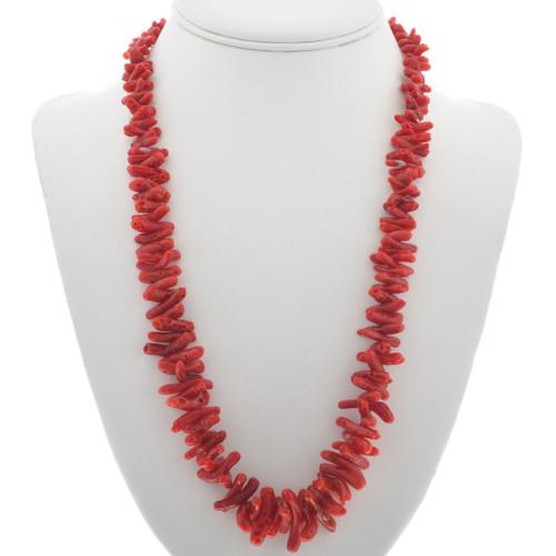 Mediterranean Coral Necklace 30926