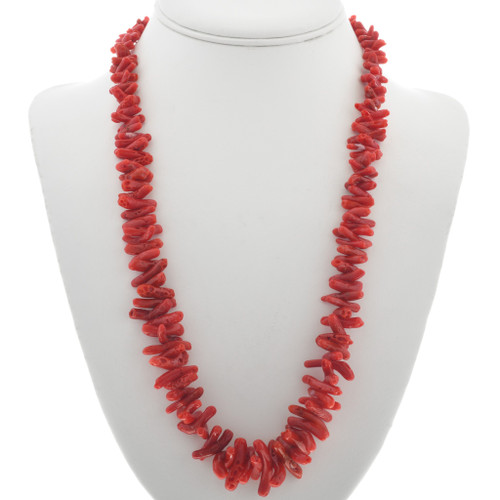 Mediterranean Coral Necklace 30926