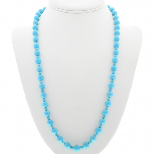 Turquoise Bead Necklace 30946