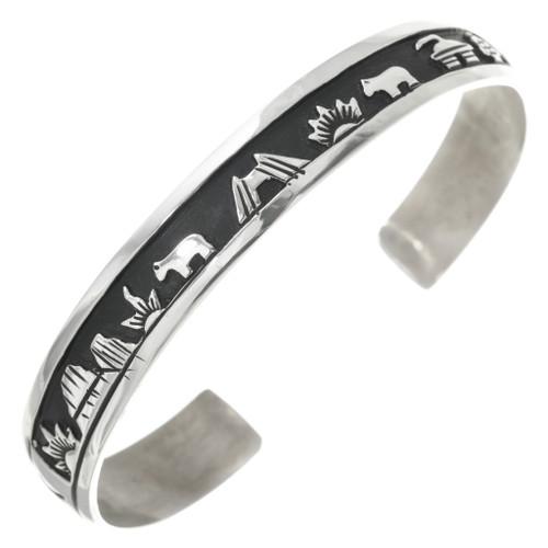 Native American Storyteller Bracelet 30950