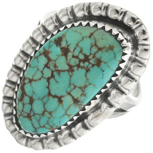 Natural Turquoise Ladies Ring 31103