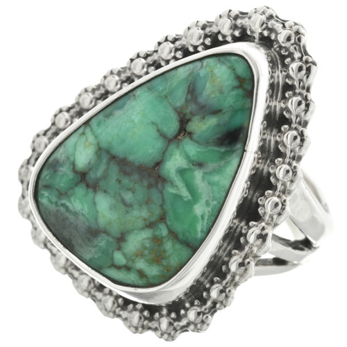 Green Turquoise Ring 31124