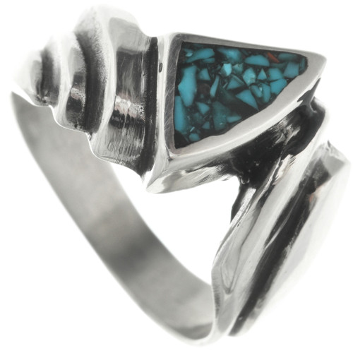 Navajo Turquoise Ring 31212