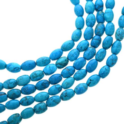 Turquoise Magnesite Beads 30826