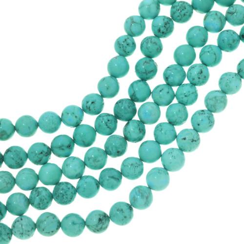Aquamarine Turquoise Magnesite Beads 30838