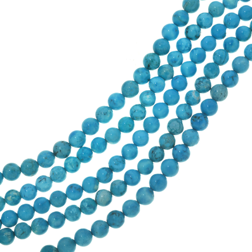 Sky Blue Turquoise Magnesite Beads 30849