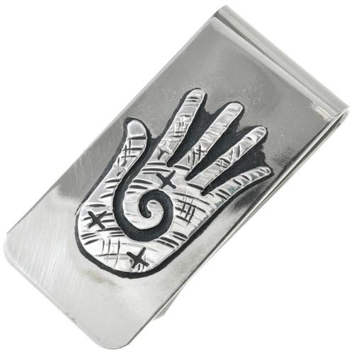 Navajo Silver Money Clip 31313