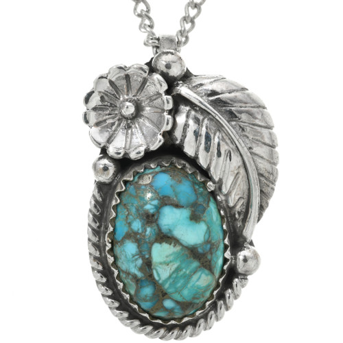 Turquoise Sterling Silver Pendant 31320