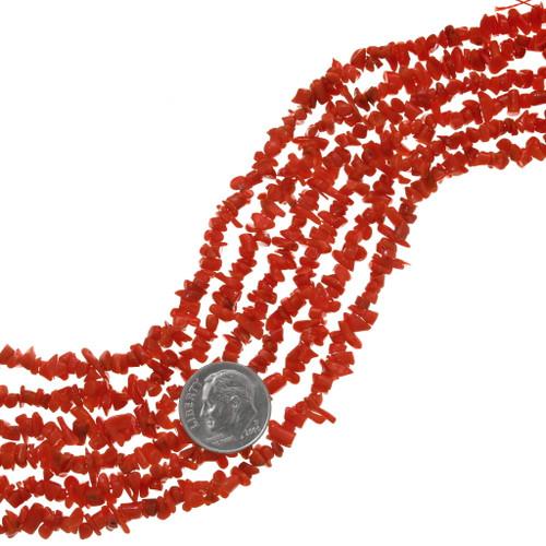 Mediterranean Coral Beads 31321