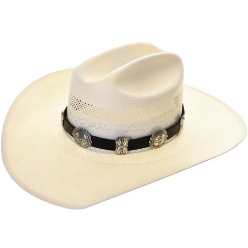 Navajo Silver Concho Hatband 31482