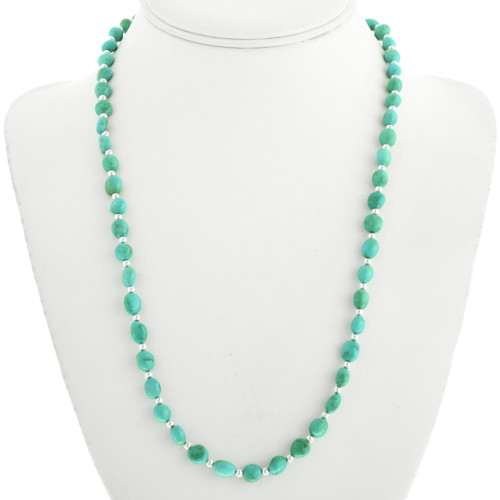 Navajo Turquoise Necklace 31856