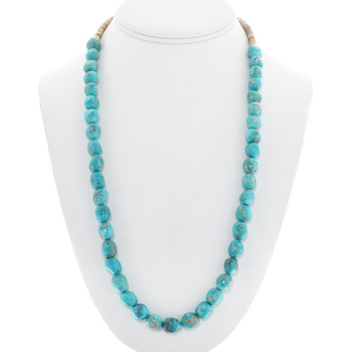 Natural Turquoise Bead Necklace 31860