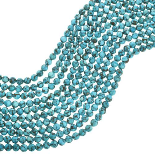 Spiderweb Turquoise Beads 31910