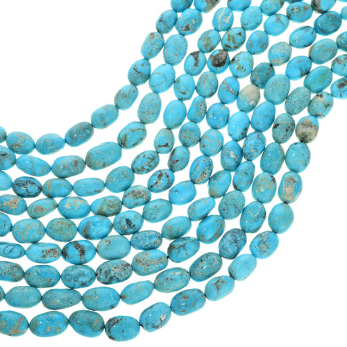 Natural Kingman Turquoise Beads 31917