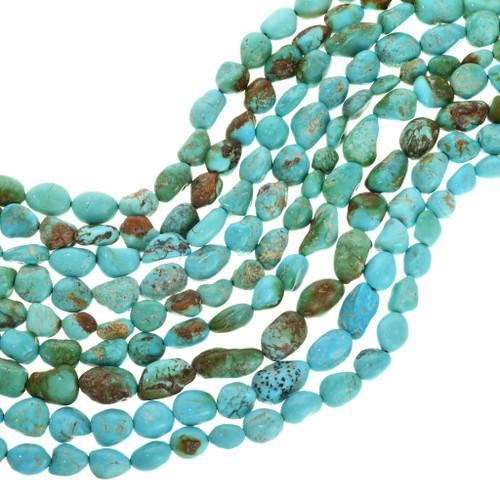 Genuine Kingman Turquoise Beads 31931