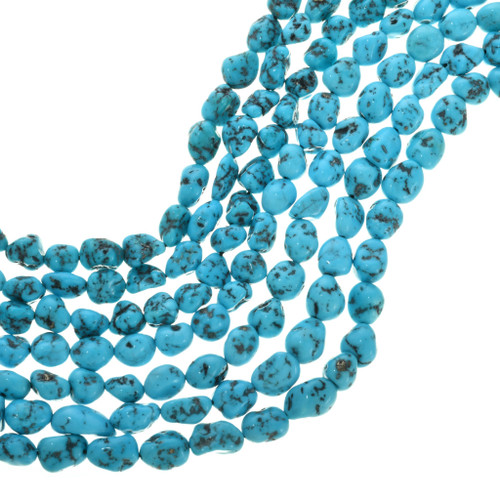 Natural Southwest Turquoise Nugget Beads 31936