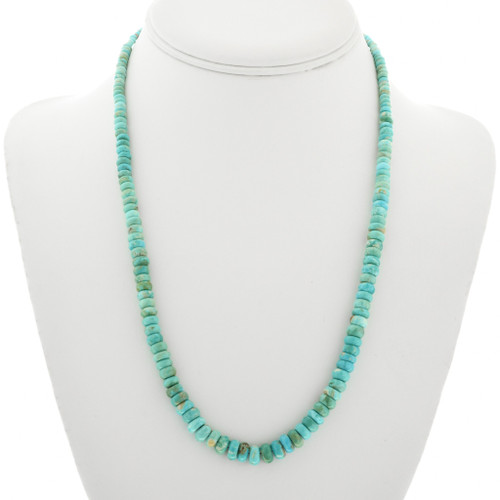 Natural Turquoise Navajo Necklace 31873