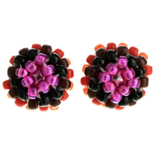 Navajo Seed Bead Post Earrings 32042