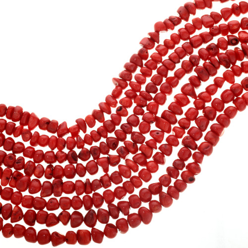 Red Branch Coral Beads 31945