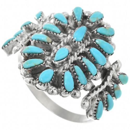 Zuni Turquoise Ring 32151